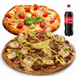 Pizza hải sản sốt Thousand Island - cỡ lớn 12""